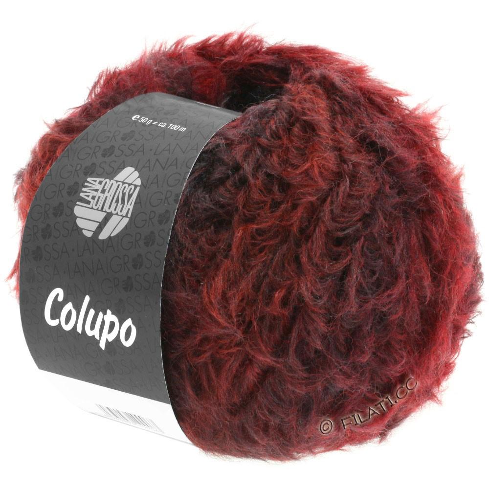 Lana Grossa COLUPO | 01-красно-коричневый/красное вино