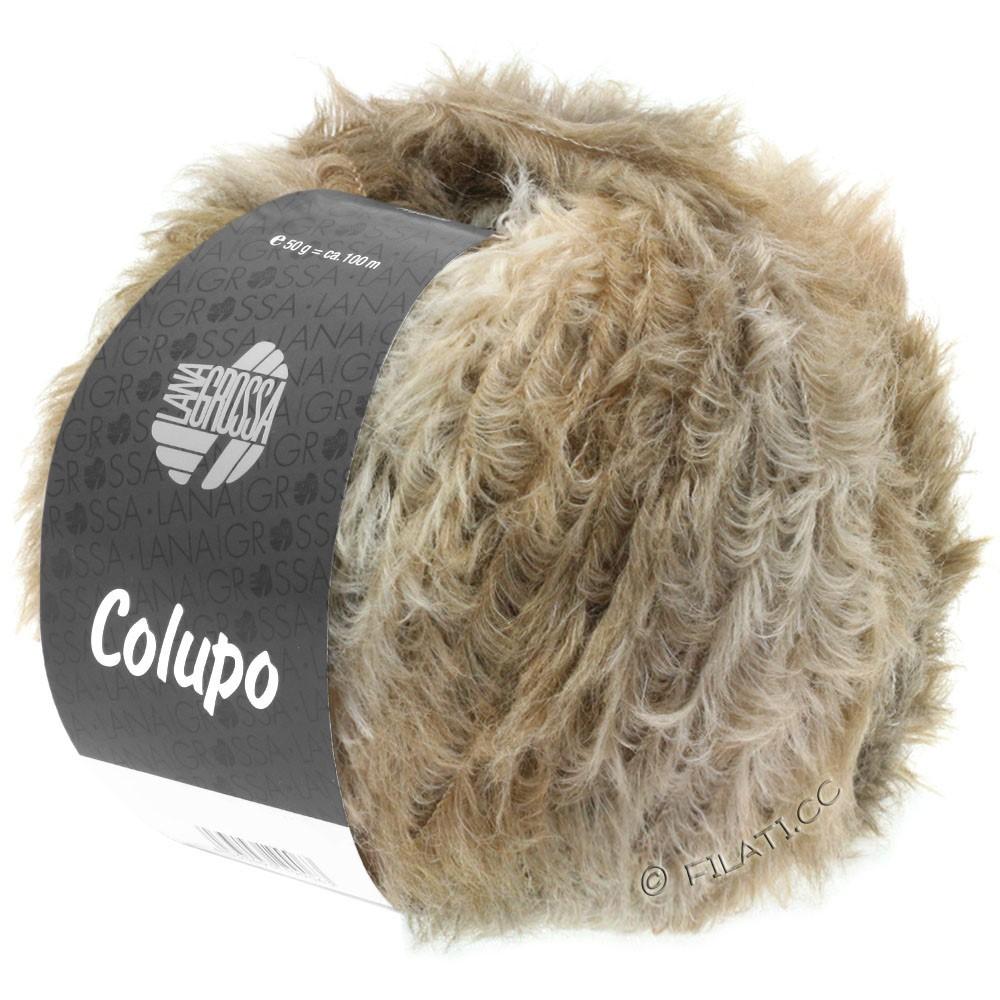 Lana Grossa COLUPO | 05-бежевый/серо-коричневый