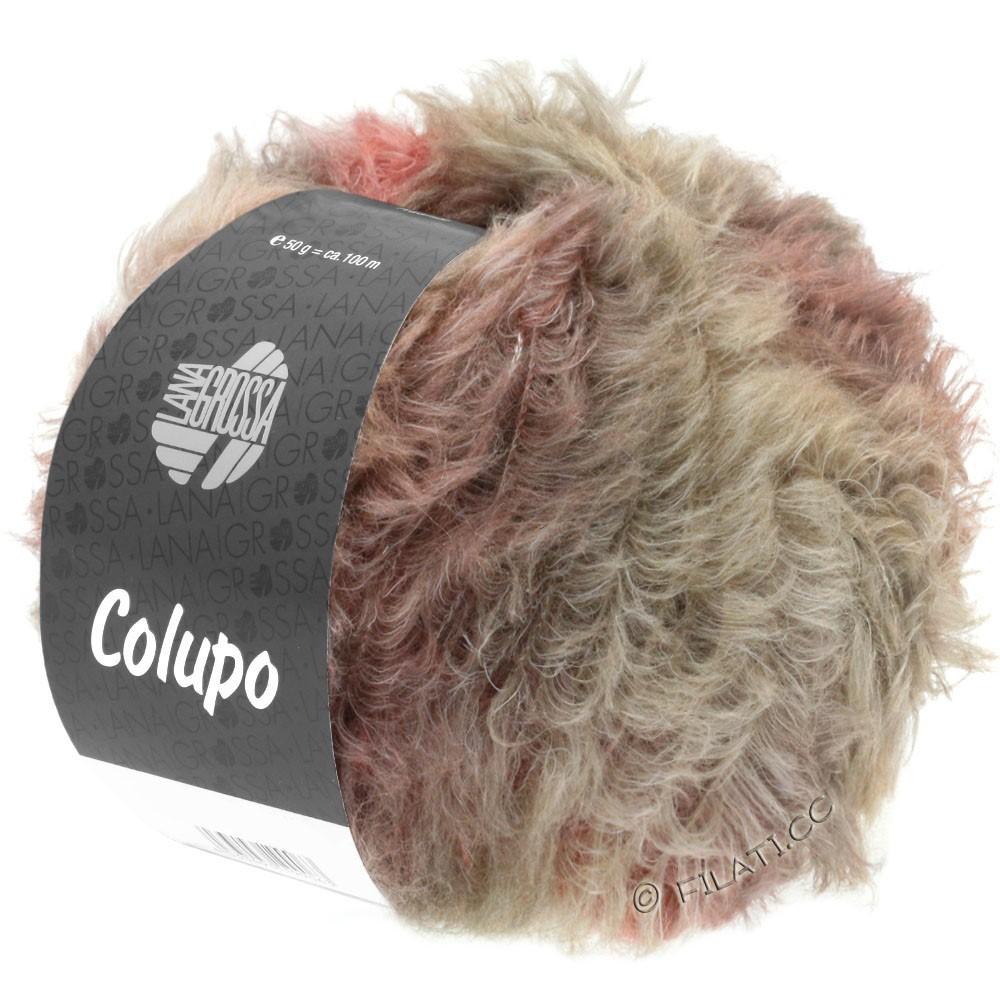 Lana Grossa COLUPO | 07-серо-коричневый/розовое дерево