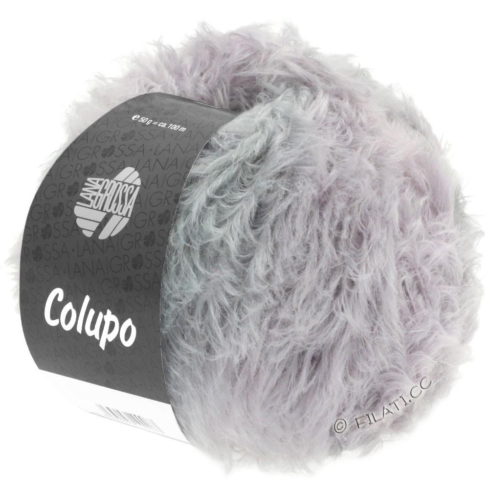 Lana Grossa COLUPO | 12-чисто-белый/бледно-розовый