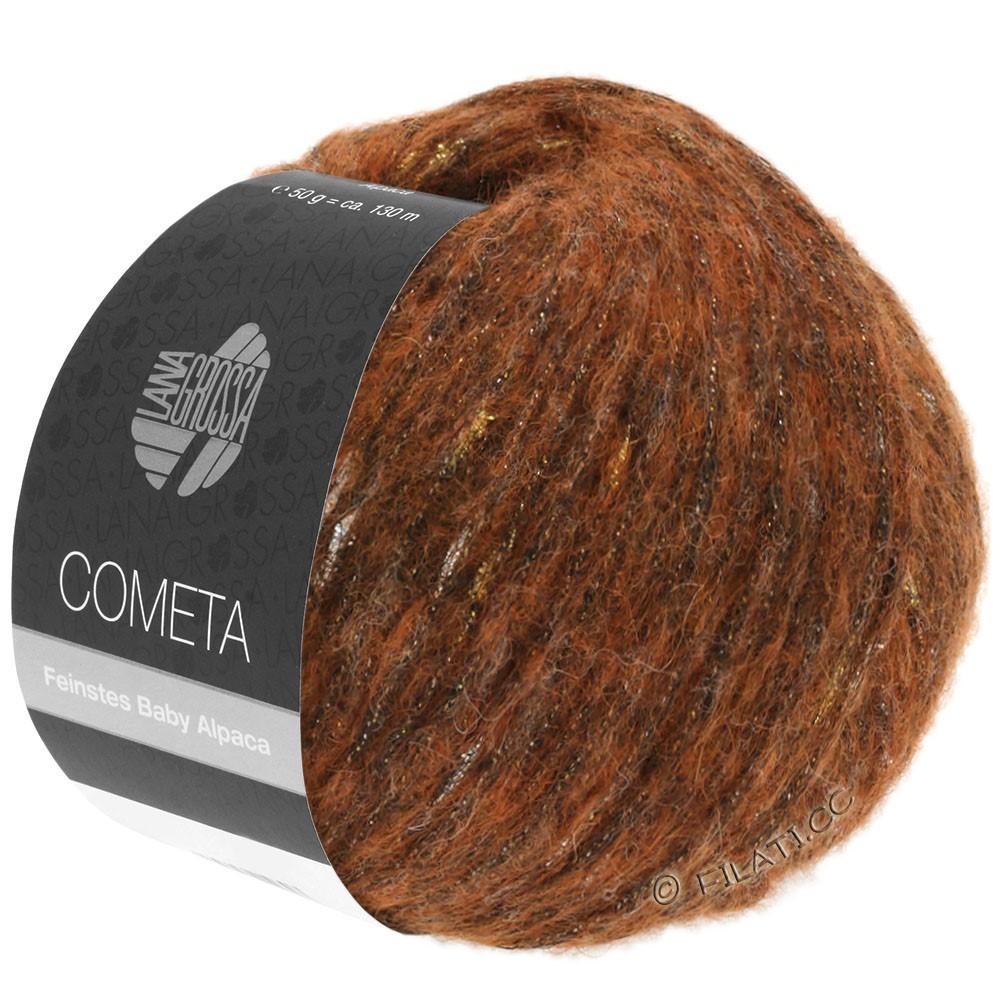 Lana Grossa COMETA | 004-медь/золотой/серебряный