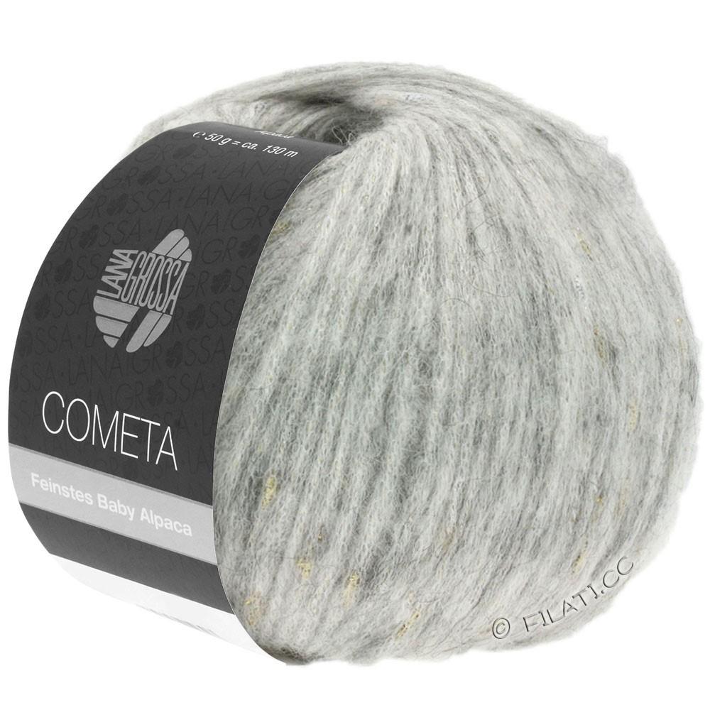 Lana Grossa COMETA | 008-серебристо-серый/золотой/серебряный