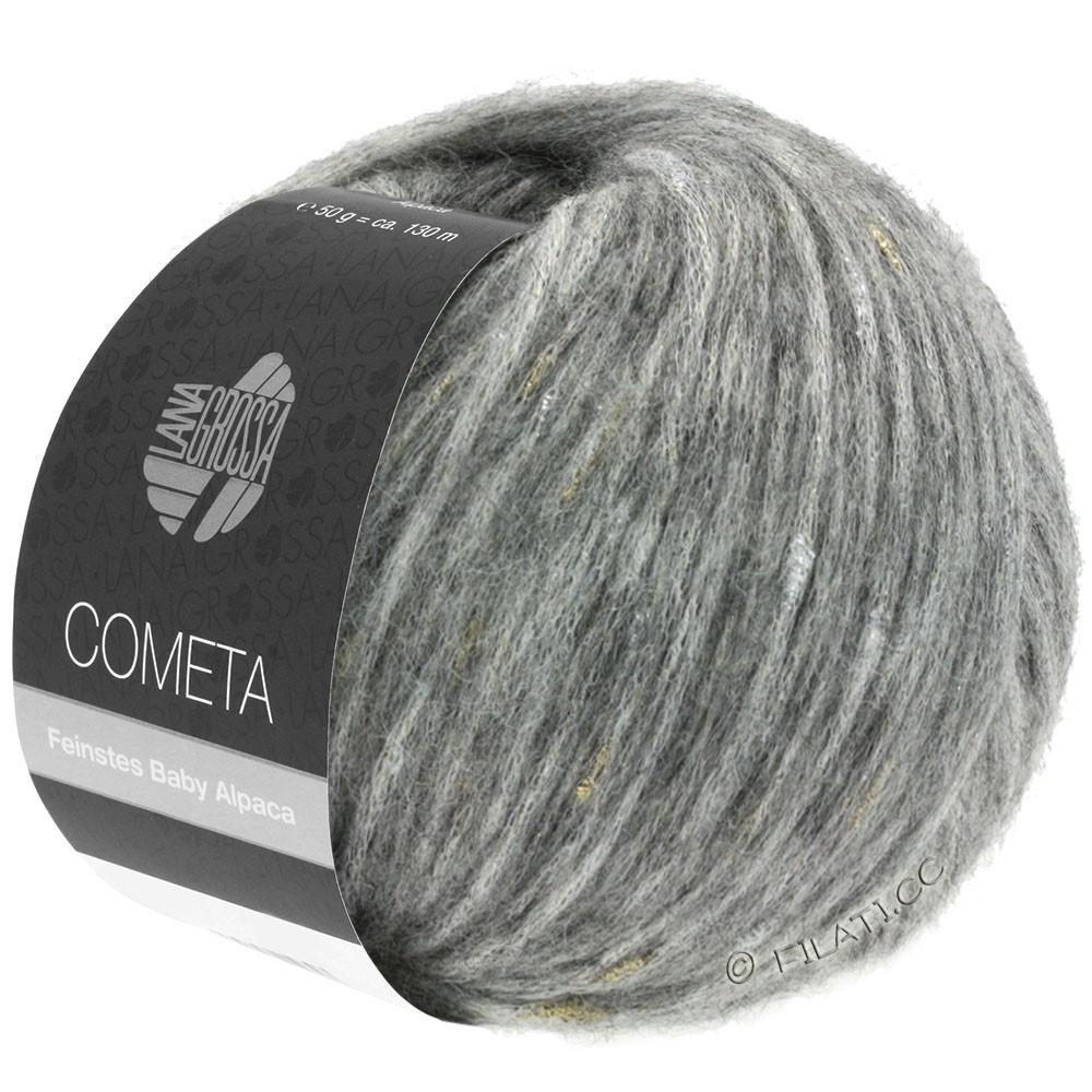 Lana Grossa COMETA | 009-светло-серый/золотой/серебряный