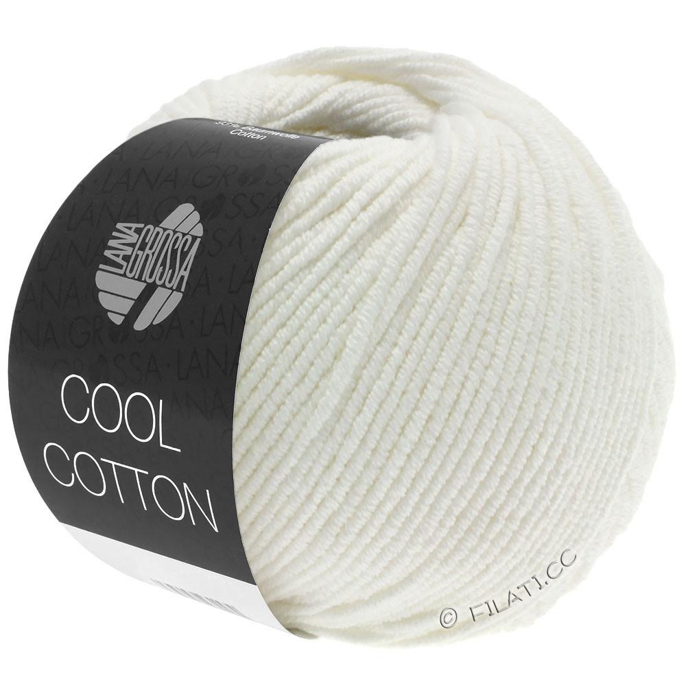 Lana Grossa COOL COTTON | 02-чисто-белый