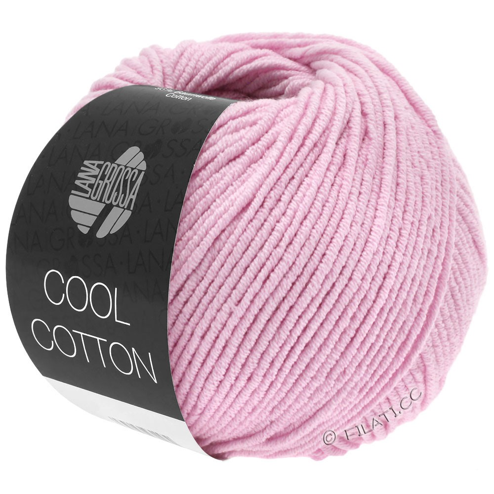 Lana Grossa COOL COTTON | 04-розовый