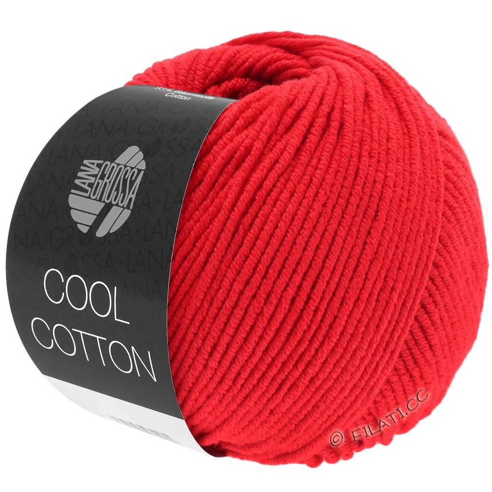 Lana Grossa COOL COTTON | 08-бледно красный