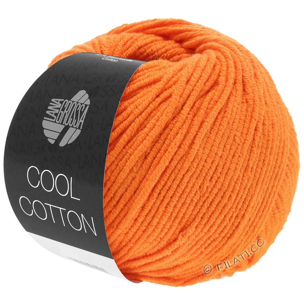Lana Grossa COOL COTTON | 09-оранжевый