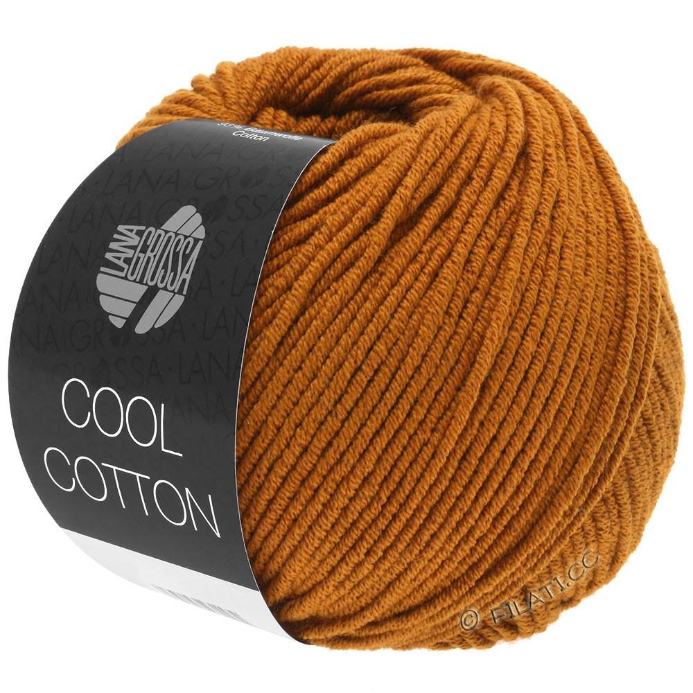 Lana Grossa COOL COTTON | 11-коричневая охра