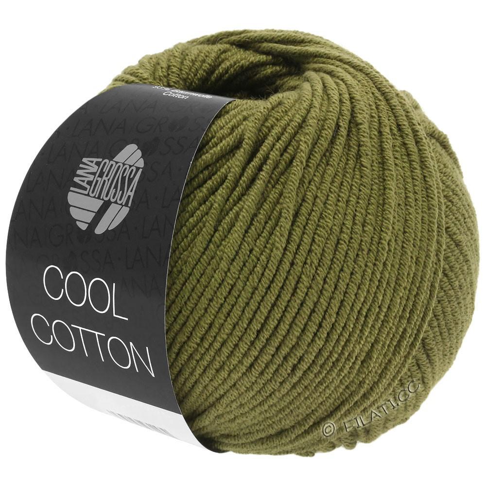 Lana Grossa COOL COTTON | 12-оливковый