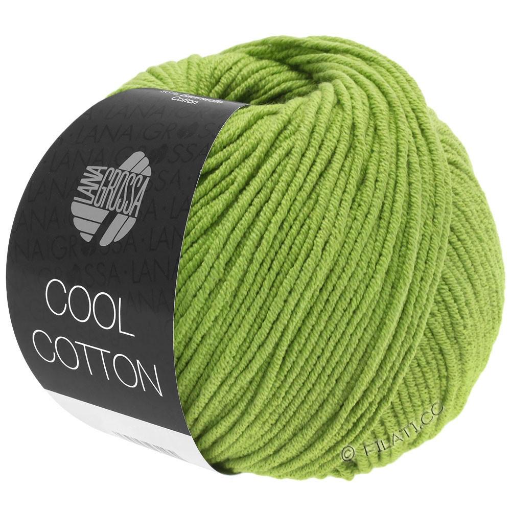 Lana Grossa COOL COTTON | 19-светло-зелёный