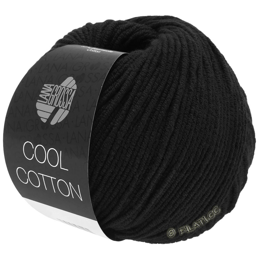 Lana Grossa COOL COTTON | 26-чёрный