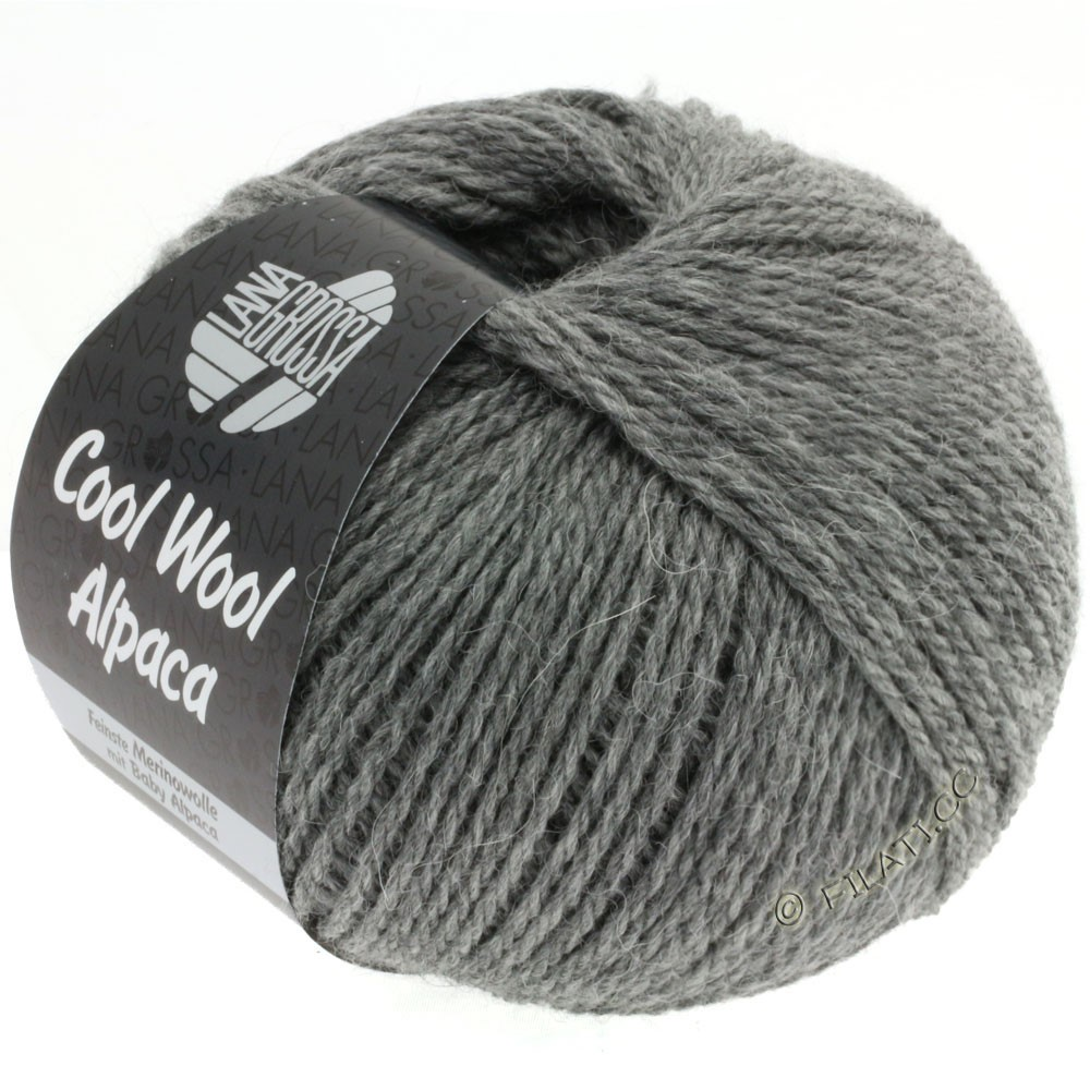 Lana Grossa COOL WOOL Alpaca | 06-тёмно-серый