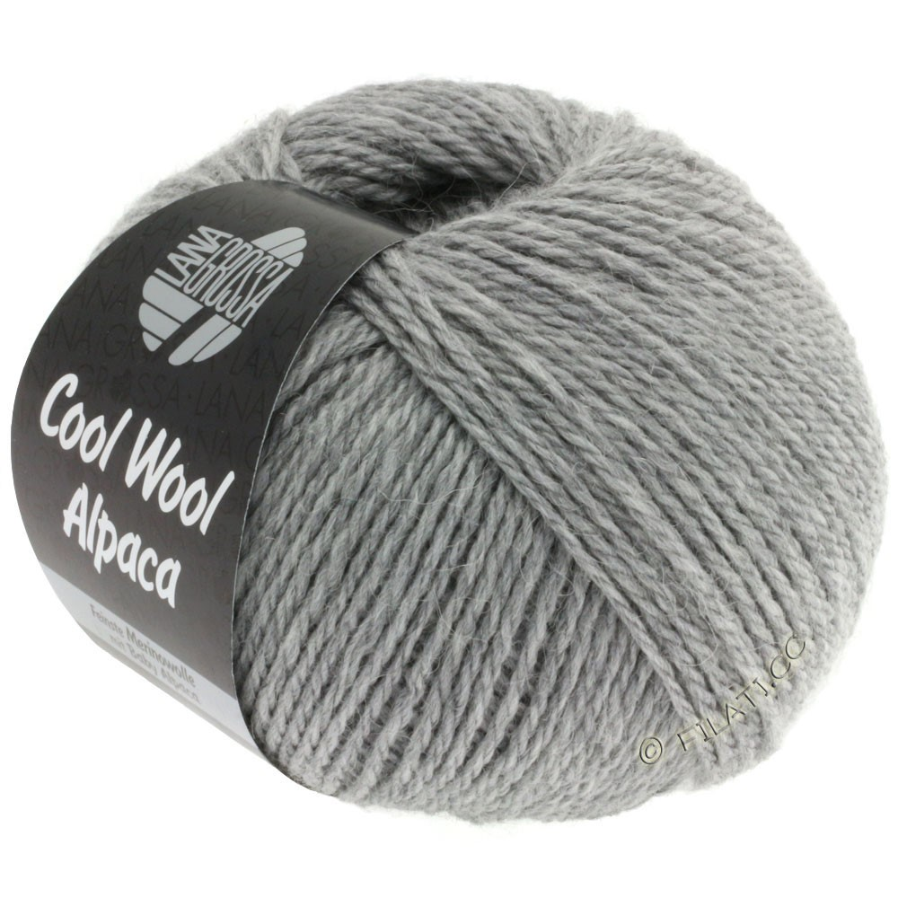 Lana Grossa COOL WOOL Alpaca | 07-светло-серый