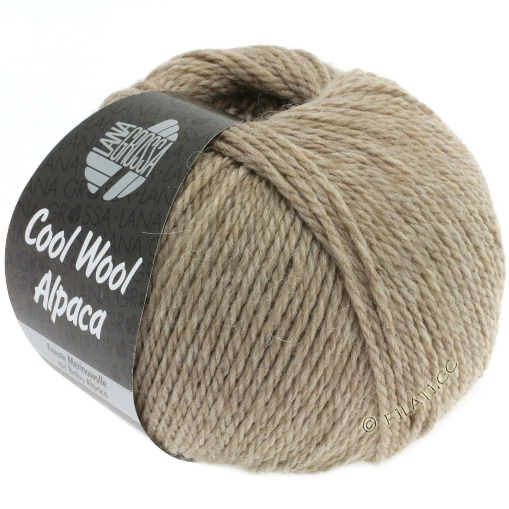 Lana Grossa COOL WOOL Alpaca | 12-бежевый
