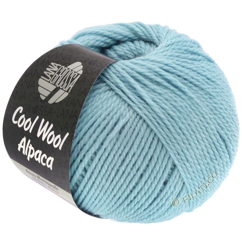 Lana Grossa COOL WOOL Alpaca | 18-светло-голубой