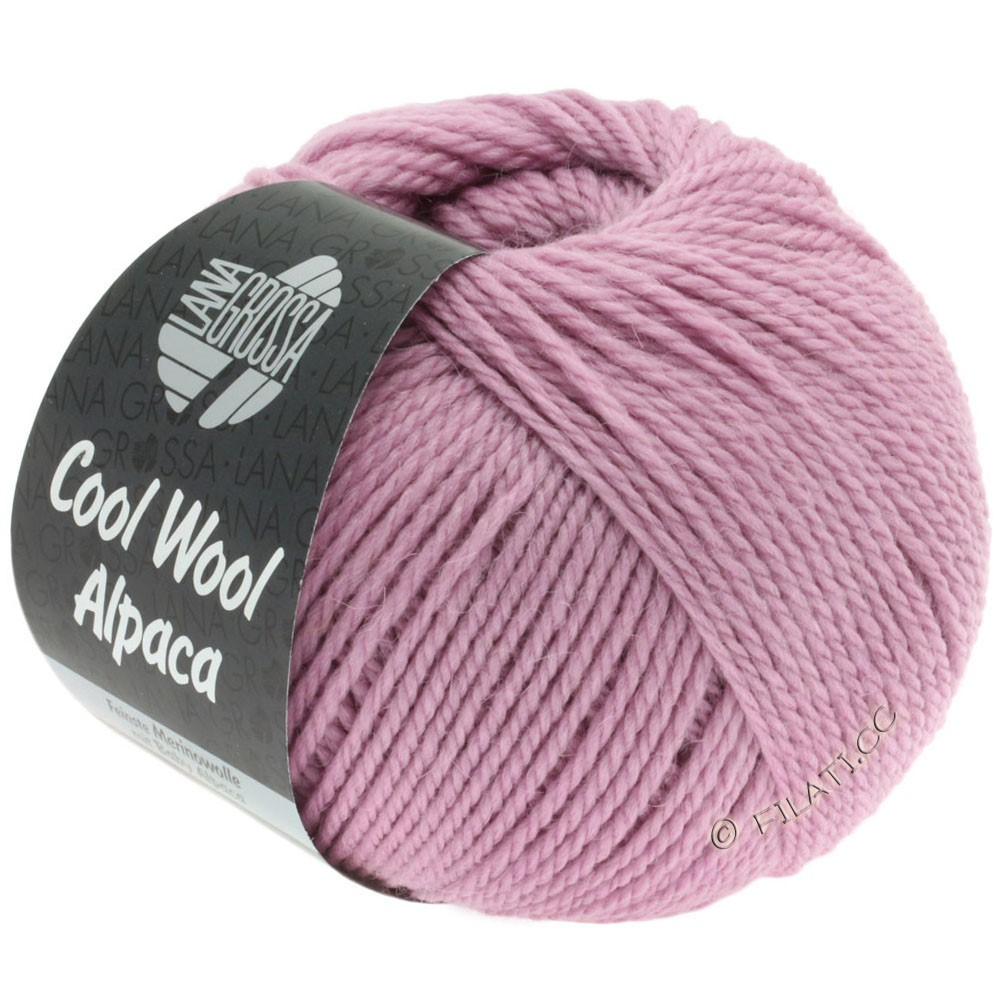 Lana Grossa COOL WOOL Alpaca | 21-сирень