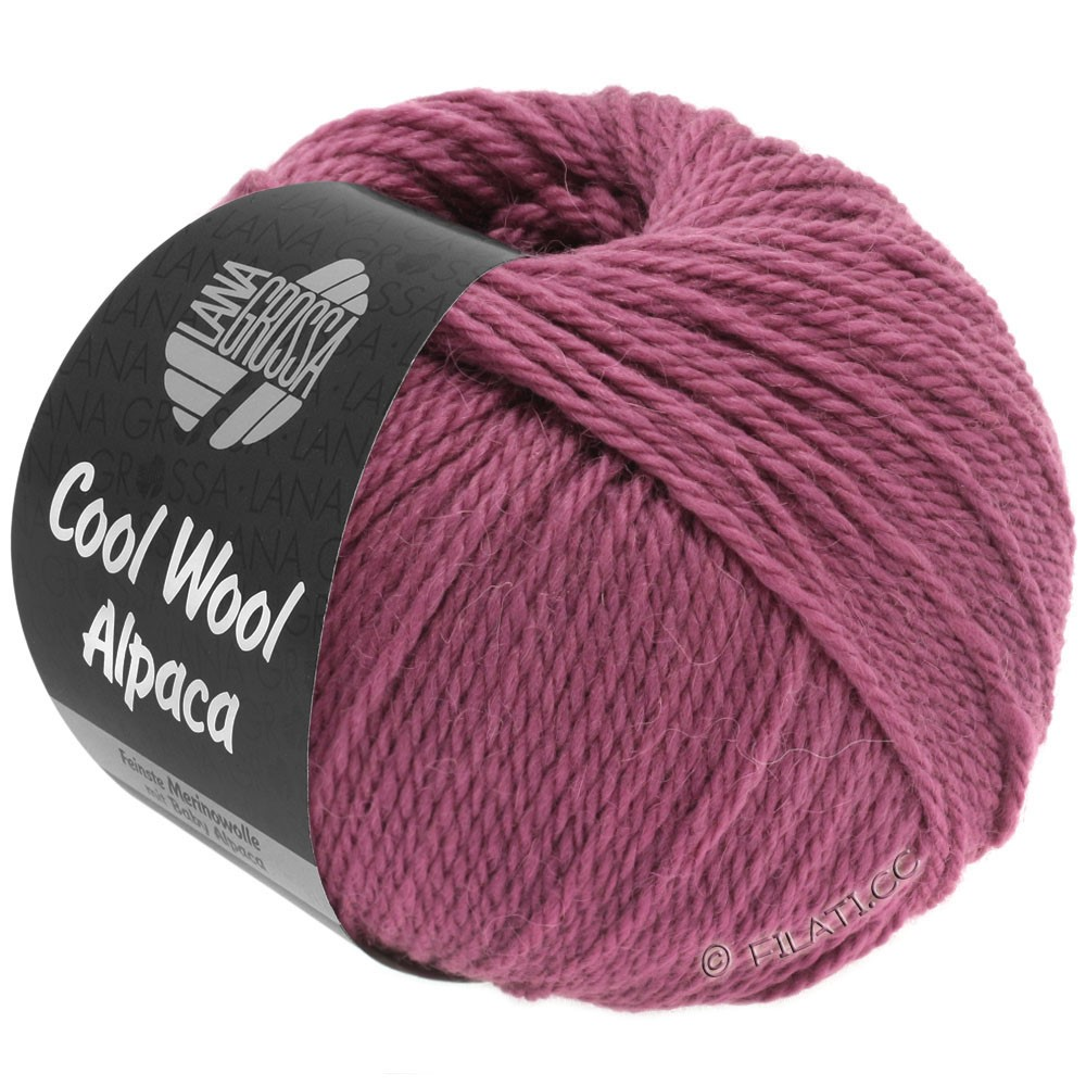 Lana Grossa COOL WOOL Alpaca | 25-ягодный