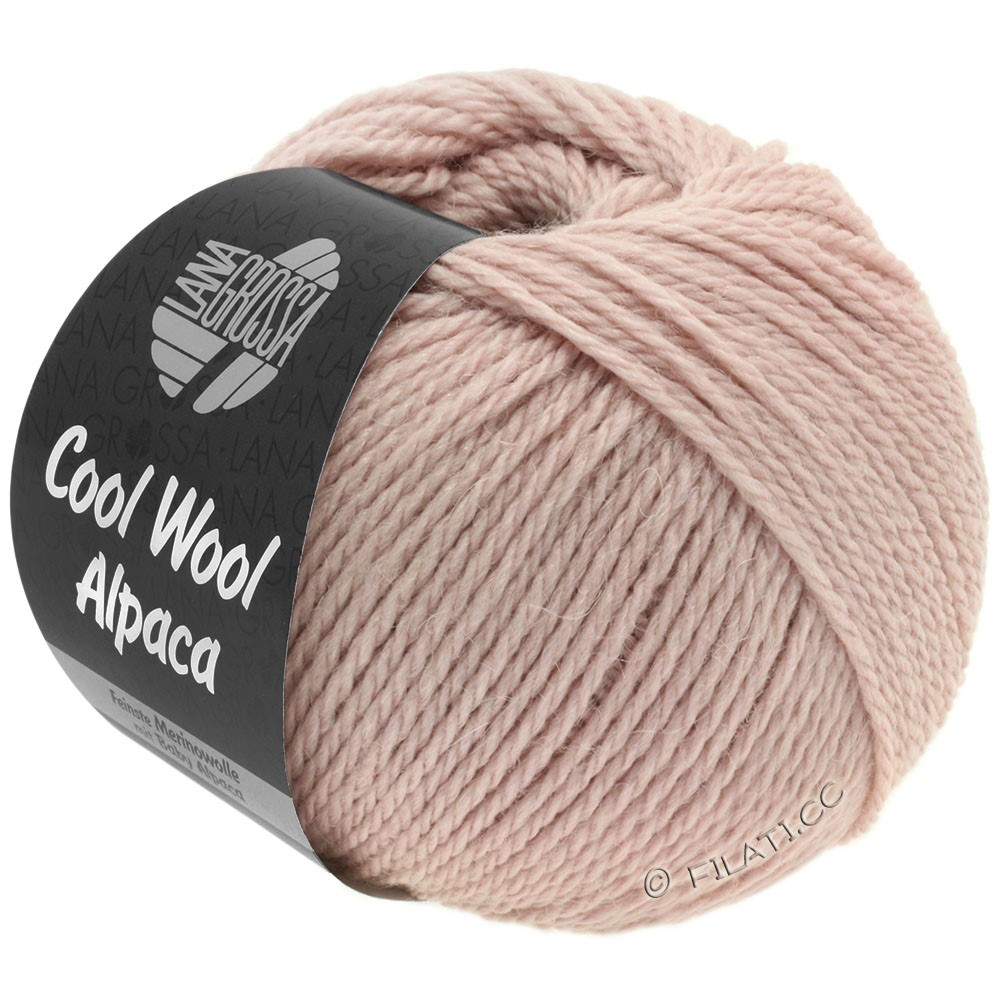 Lana Grossa COOL WOOL Alpaca | 26-розовый