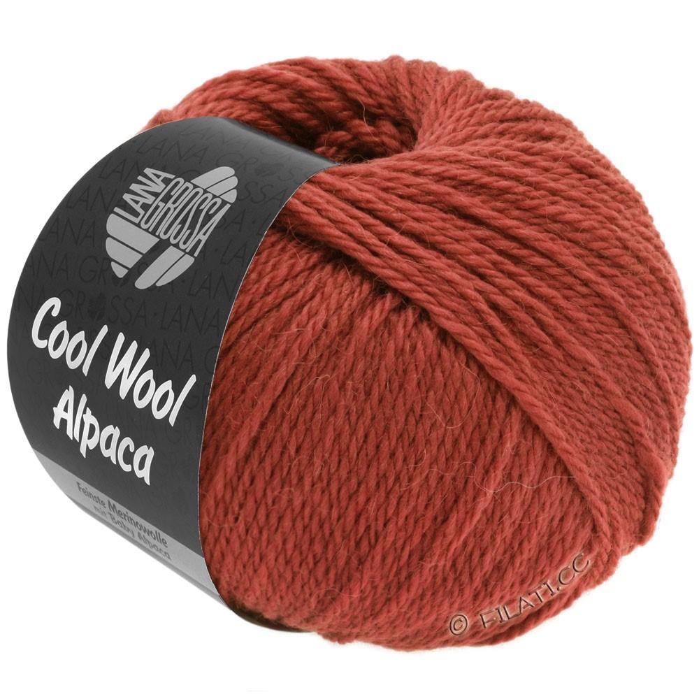 Lana Grossa COOL WOOL Alpaca | 33-кирпично-красный