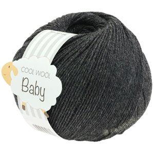 Lana Grossa COOL WOOL Baby 50g | 205-антрацитовый