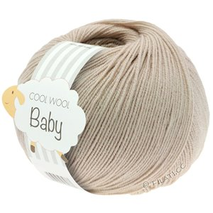 Lana Grossa COOL WOOL Baby 50g | 212-бежевый