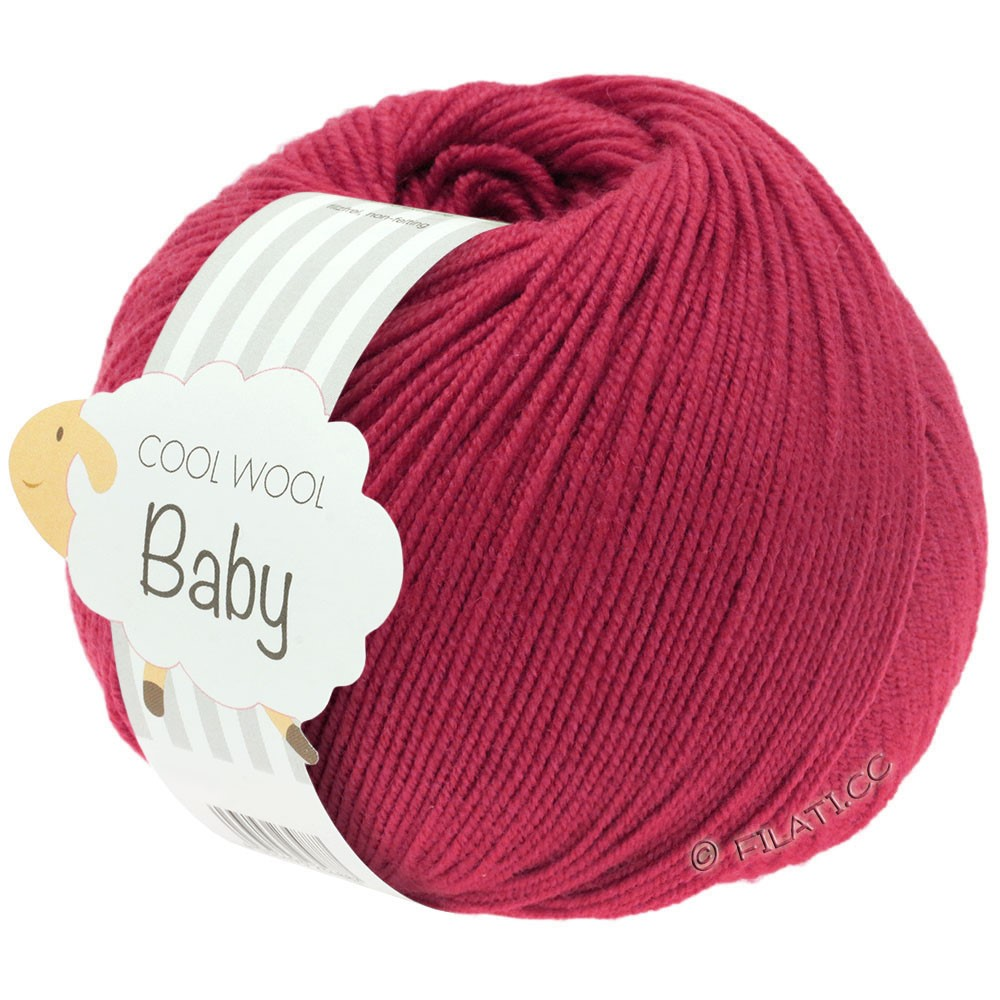 Lana Grossa COOL WOOL Baby Uni/Degradé | 220-красный