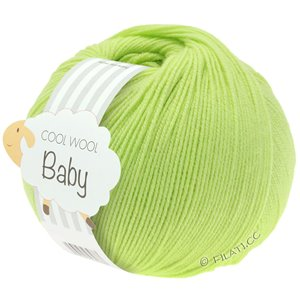 Lana Grossa COOL WOOL Baby 50g | 228-лайм