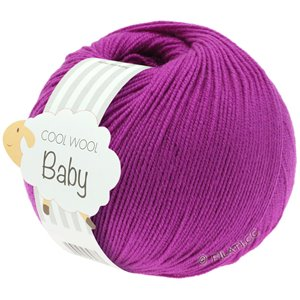 Lana Grossa COOL WOOL Baby 50g | 236-цикламеновый