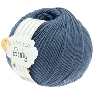 Lana Grossa COOL WOOL Baby 50g | 263-светло синий