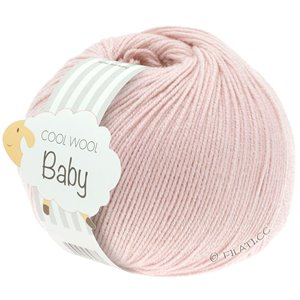 Lana Grossa COOL WOOL Baby 50g | 267-мягко-розовый