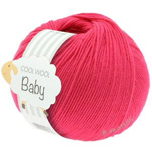 Lana Grossa COOL WOOL Baby 50g | 269-малиновый