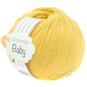 Lana Grossa COOL WOOL Baby 50g | 273-жёлтый