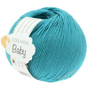 Lana Grossa COOL WOOL Baby 50g | 277-бирюзовый