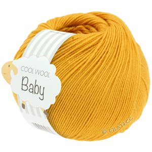 Lana Grossa COOL WOOL Baby 50g | 280-желтый шафран