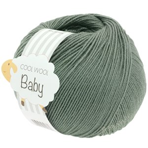 Lana Grossa COOL WOOL Baby 50g | 282-хаки