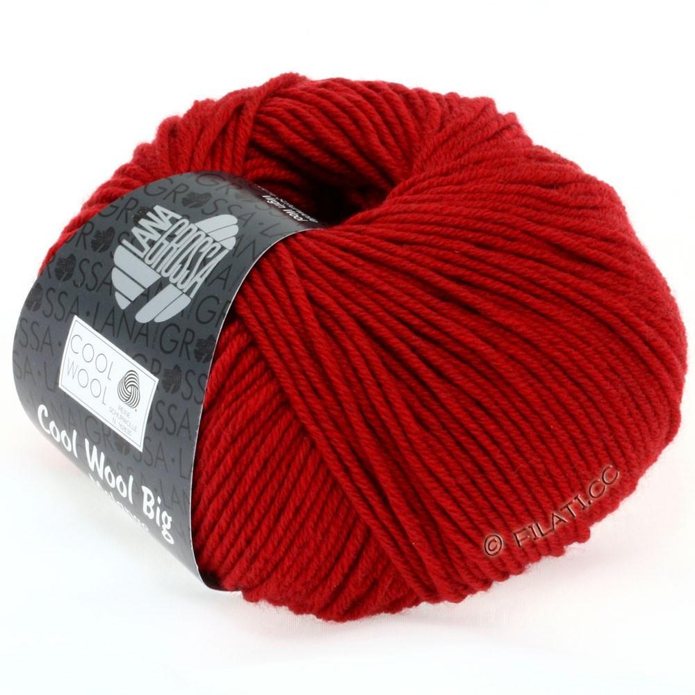 Lana Grossa COOL WOOL Big Uni/Melange/Print уни/меланж/принт | 0302-красный смешанный