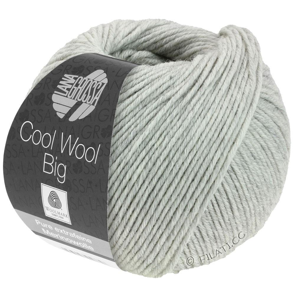 Lana Grossa COOL WOOL Big Uni/Melange/Print уни/меланж/принт | 0616-светло-серый смешанный