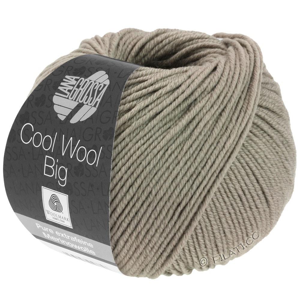Lana Grossa COOL WOOL Big Uni/Melange/Print уни/меланж/принт | 0686-серо-коричневый