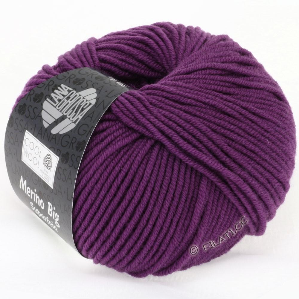 Lana Grossa COOL WOOL Big Uni/Melange/Print уни/меланж/принт | 0695-фиолетовый