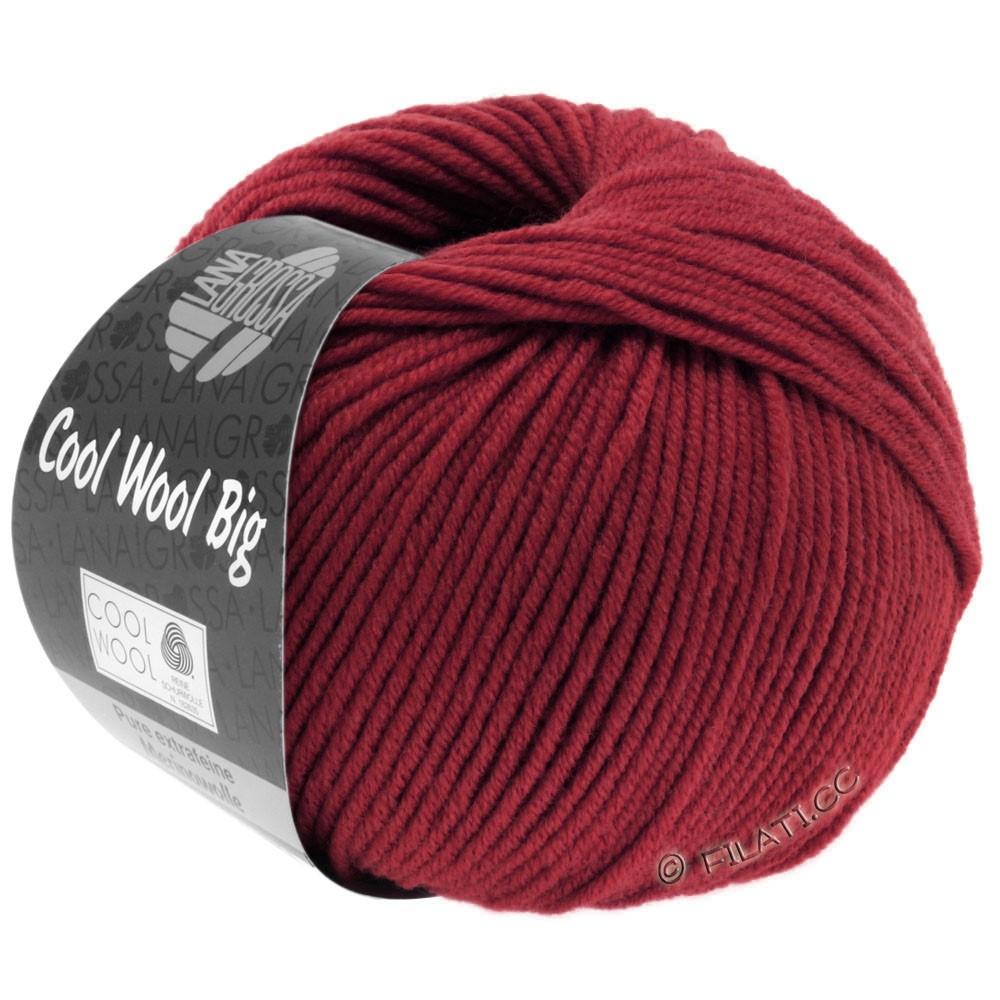 Lana Grossa COOL WOOL Big Uni/Melange/Print уни/меланж/принт | 0960-красное вино
