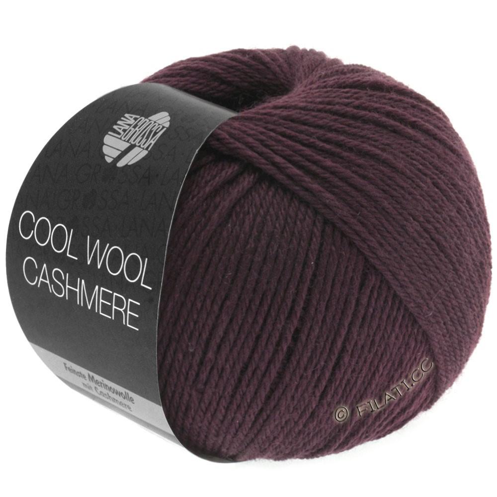 Lana Grossa COOL WOOL Cashmere   04-тёмно-коричневый