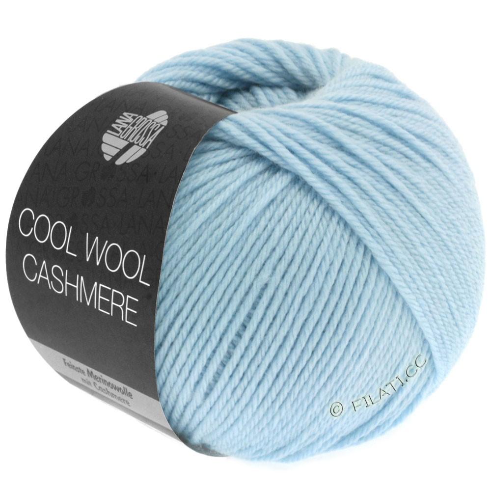 Lana Grossa COOL WOOL Cashmere   08-светло-голубой