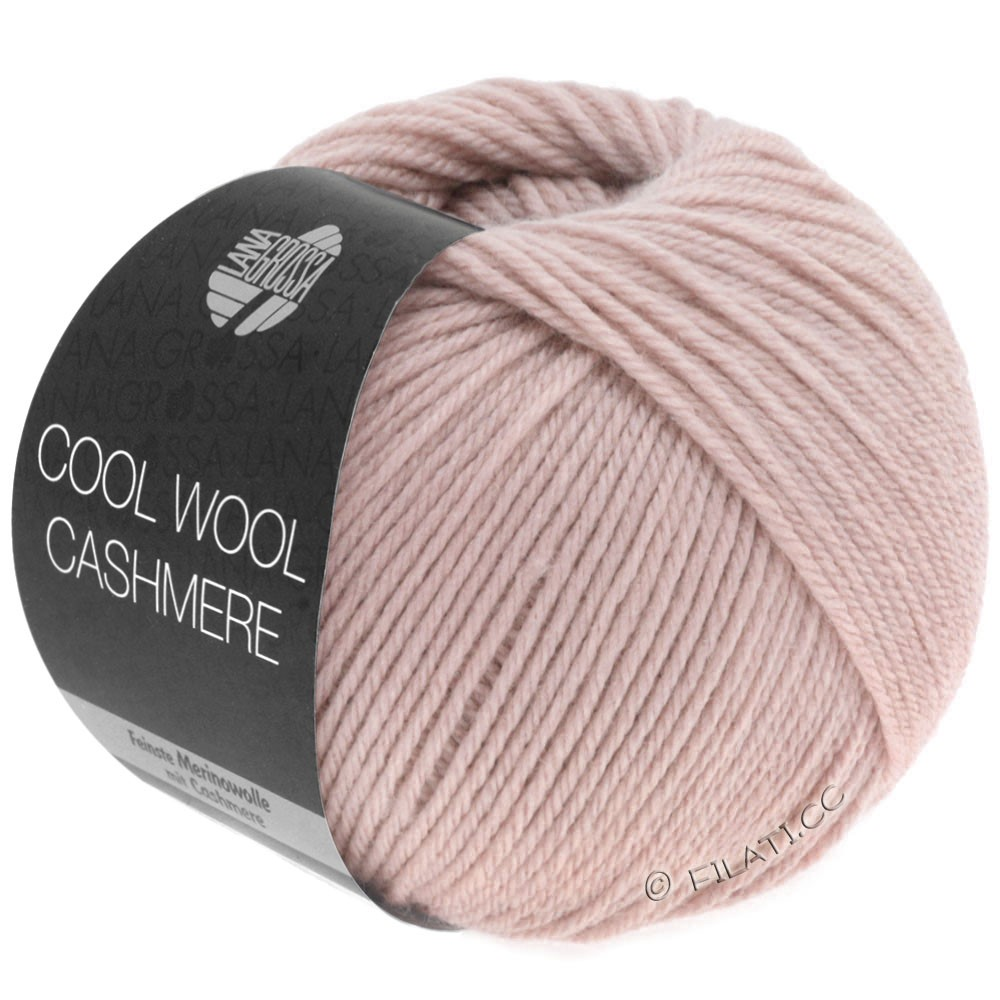 Lana Grossa COOL WOOL Cashmere | 17-розовый