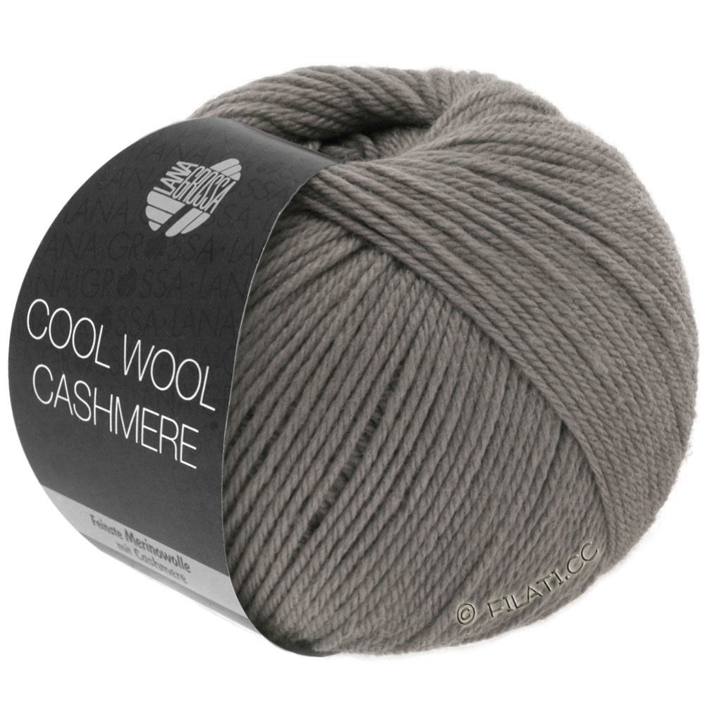 Lana Grossa COOL WOOL Cashmere | 19-серо-коричневый