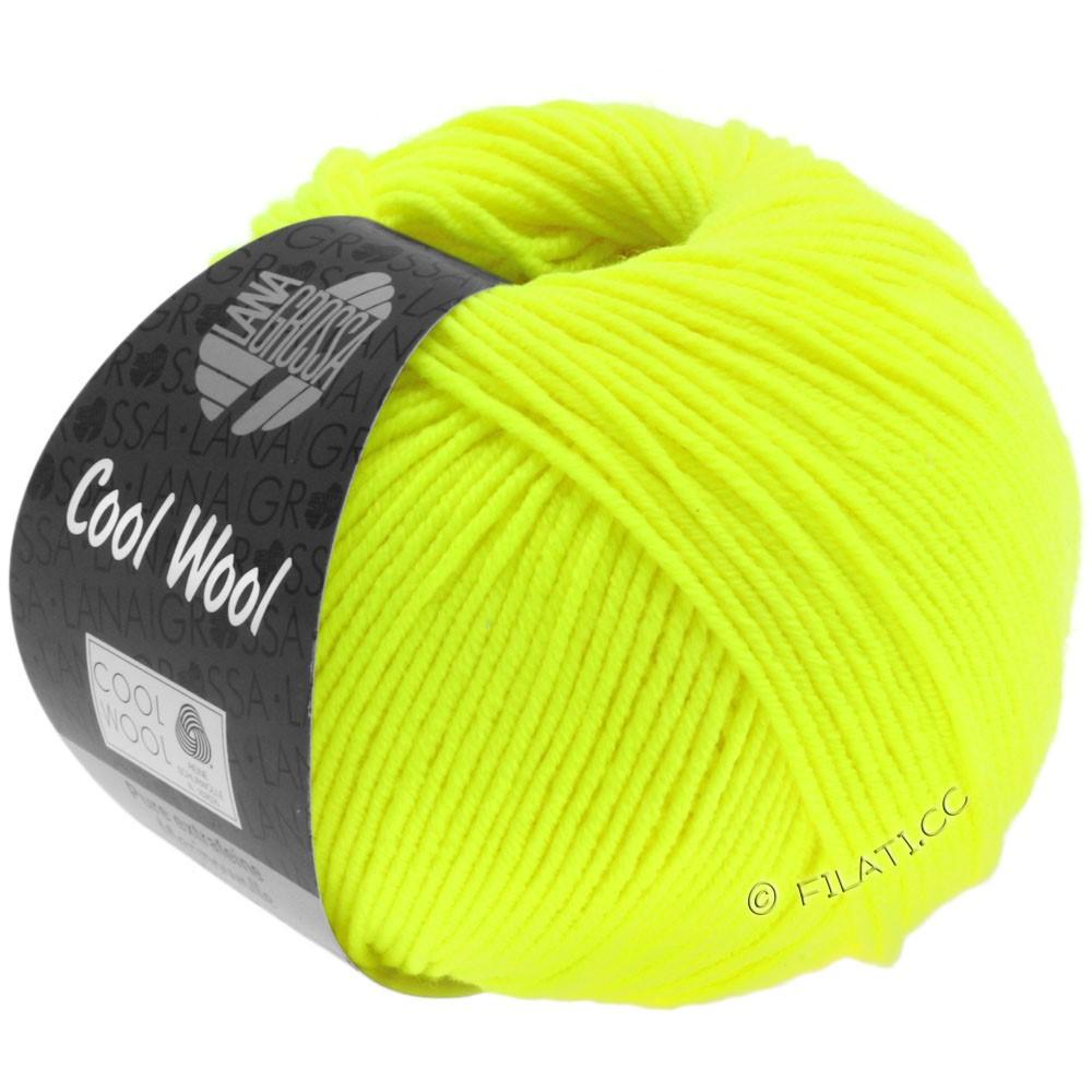 Lana Grossa COOL WOOL  Uni/Melange/Print/Degradé/Neon | 0051-неоново-жёлтый