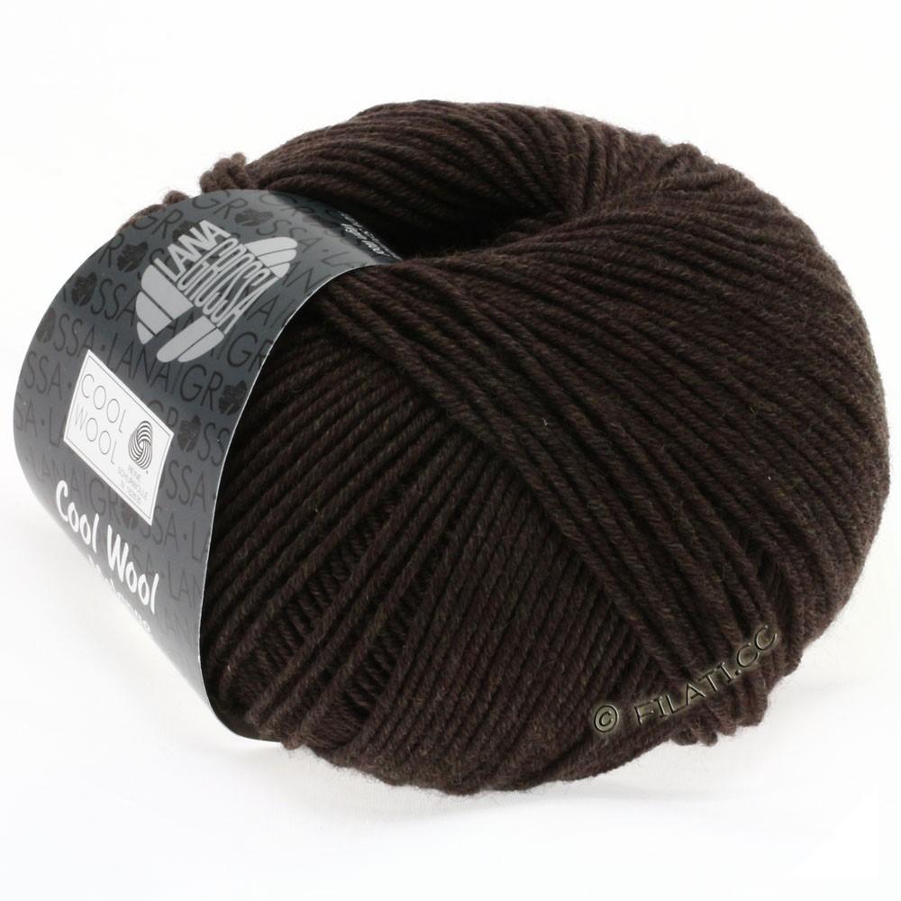 Lana Grossa COOL WOOL   Uni/Melange/Neon | 0123-кофе мокко меланжевый