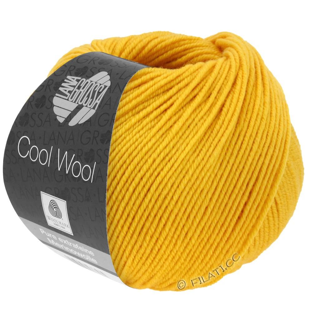 Lana Grossa COOL WOOL   Uni/Melange/Neon | 2005-золотисто-жёлтый