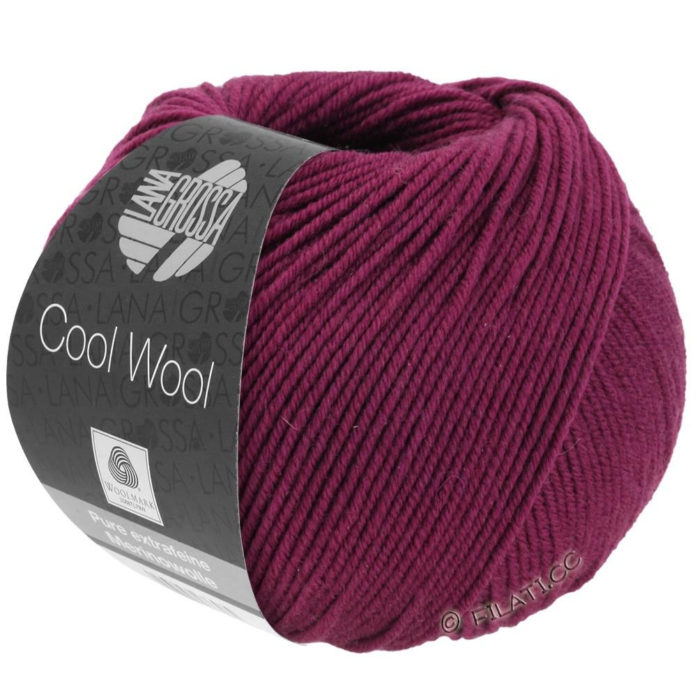 Lana Grossa COOL WOOL   Uni/Melange/Neon | 2012-бордо