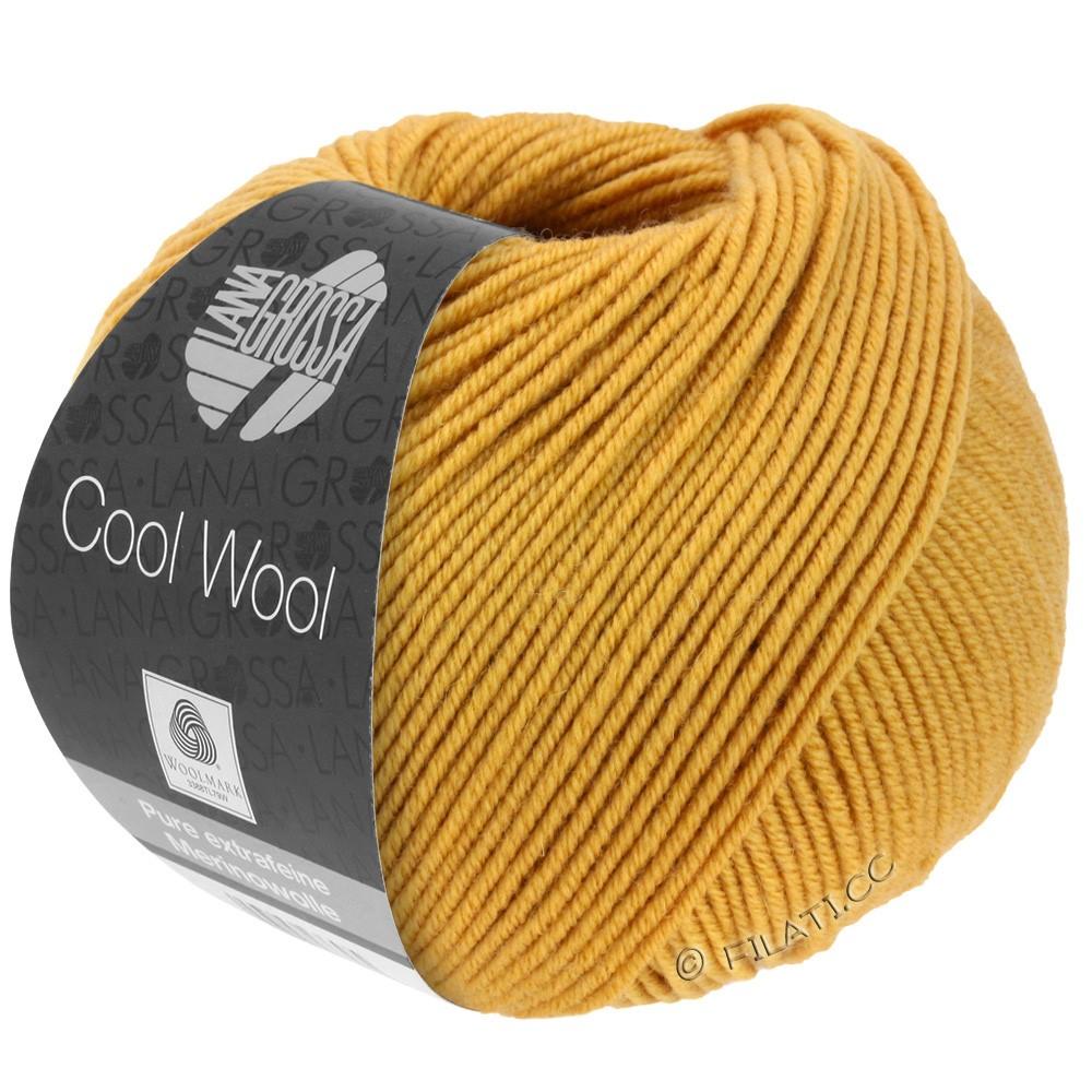 Lana Grossa COOL WOOL   Uni/Melange/Neon | 2035-мед желтый