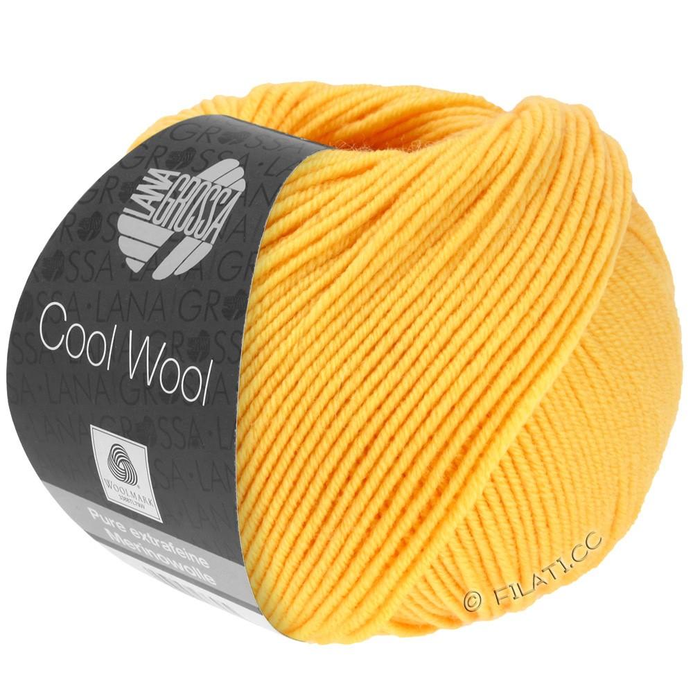 Lana Grossa COOL WOOL   Uni/Melange/Neon | 0419-жёлтый